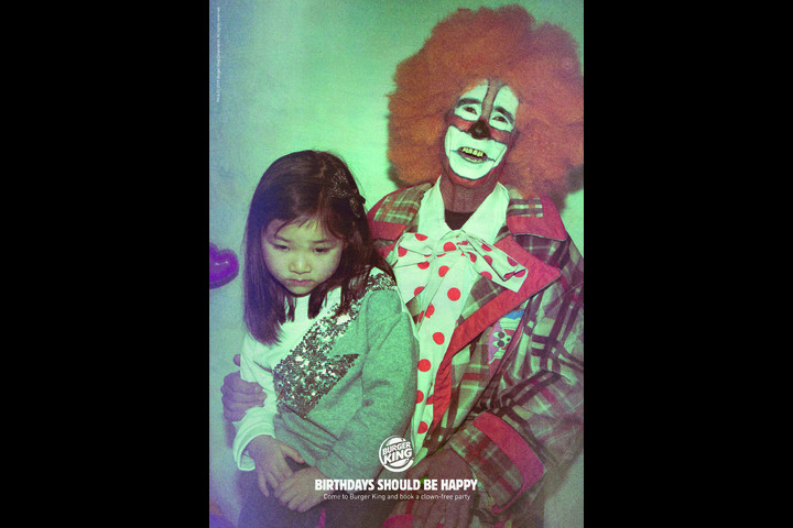 Birthday Clowns - - Burger King