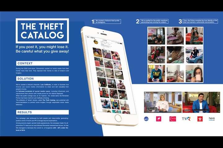 The Theft Catalog - Burglary Prevention Campaign - The Romanian Police