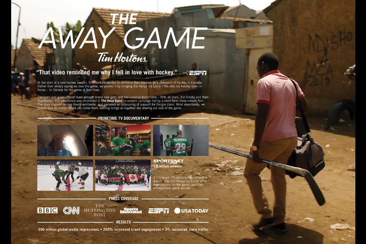 The Away Game - Tim Hortons - Tim Hortons