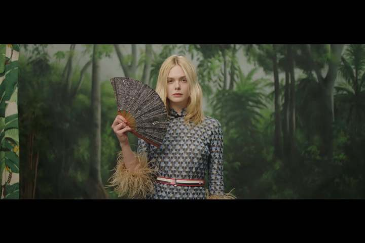 Elle Fanning's Fan Fantasy - Vogue - Vogue