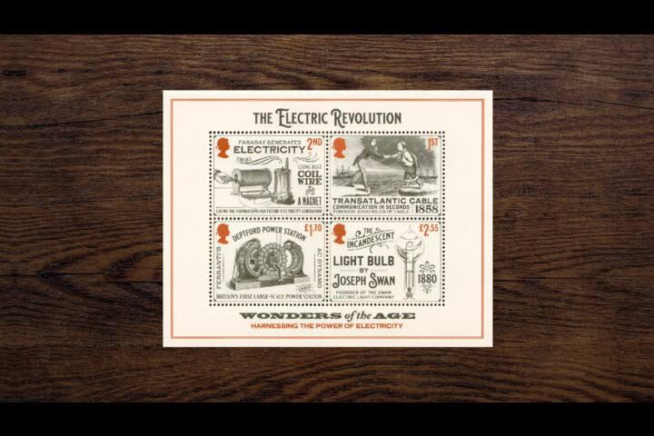 Royal Mail Industrial Revolution Minisheet stamps - Industrial Revolution Minisheet stamps - Royal Mail