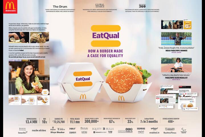 EatQual - Hardcastle Restaurants - McDonald's India