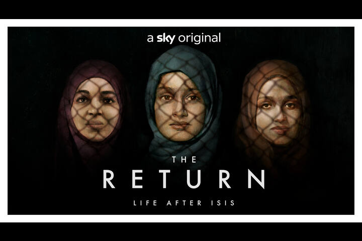The Return: Life After Isis - Key Art - Sky Documentaries