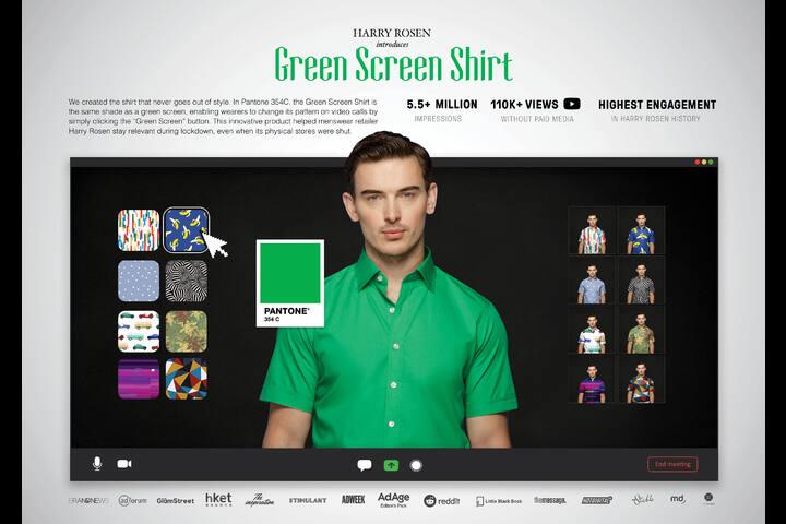 Green Screen Shirt - Harry Rosen - Harry Rosen