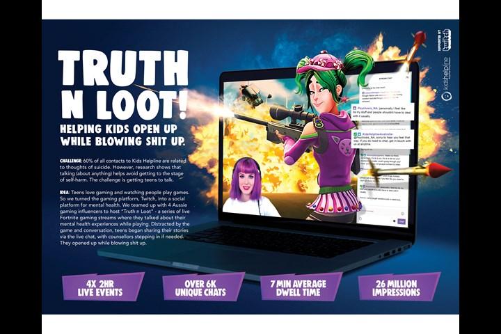 Truth & Loot - - Kid' Helplime