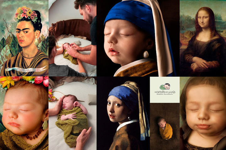 Your baby is a work of art - Os Bebês da Lhais - Newborn Photography - Newborn Photography