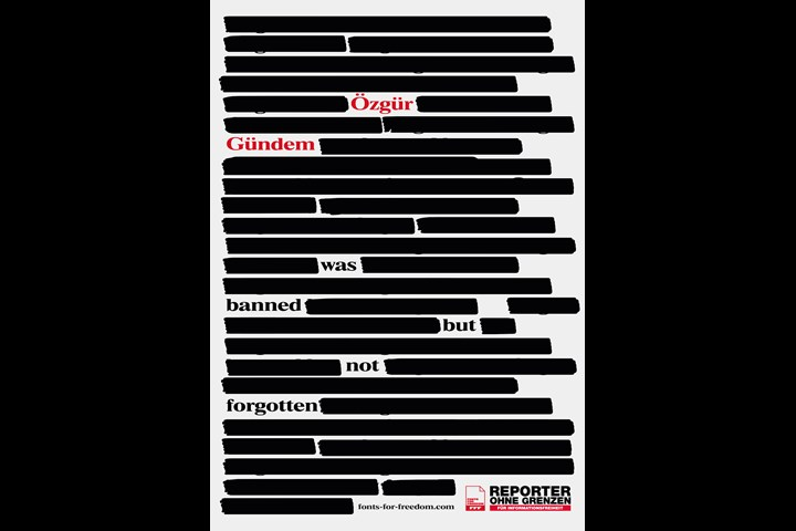 POSTERS FOR PRESS FREEDOM - Posters For Press Freedom - Reporters without Borders