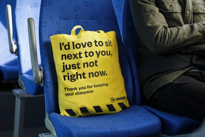 No Douche Bag - Public Transport - Västtrafik