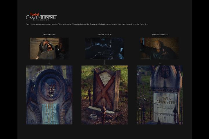 Grave of Thrones - - Foxtel