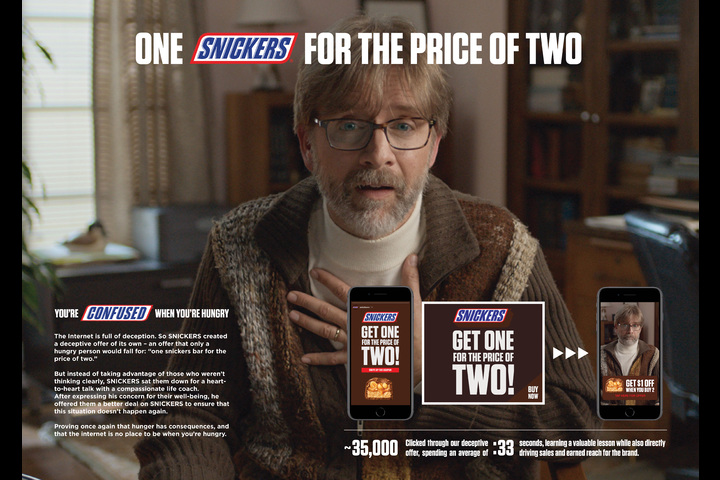 One for Two - Snickers - Snickers