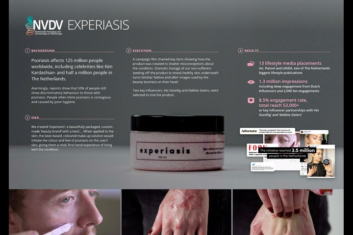 Experisais - Public Awareness - NVDV (The Dutch Society of Dermatology and Venereology)