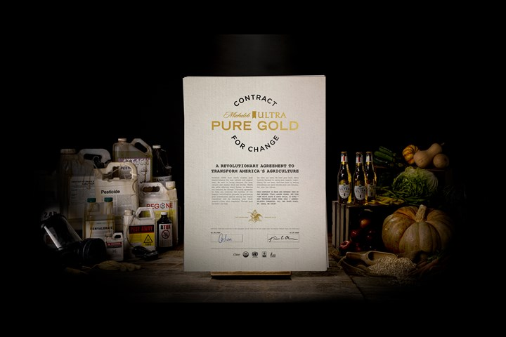 Contract for Change - Michelob ULTRA Pure Gold - Michelob ULTRA Pure Gold