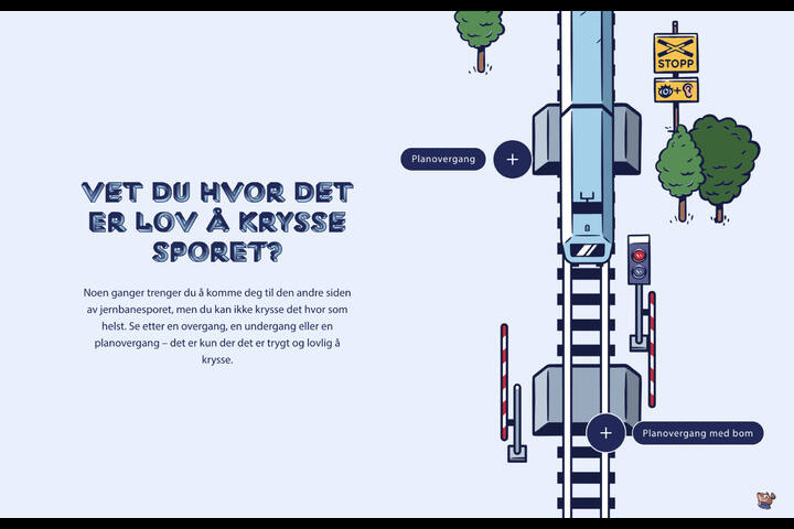Banorama - Bane NOR - Banorama – Interactive learning and behaviour change campaign