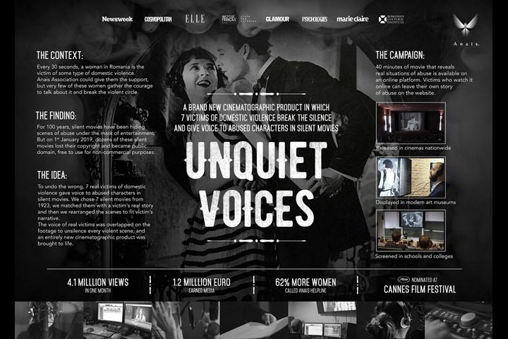 Unquiet Voices - NGO - ANAIS
