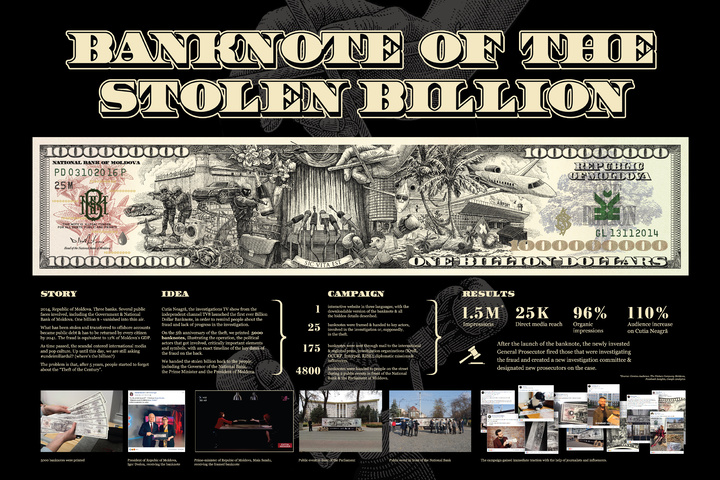 Banknote of the Stolen Billion - TV8, Cutia Neagra - Cutia Neagra Investigative Show