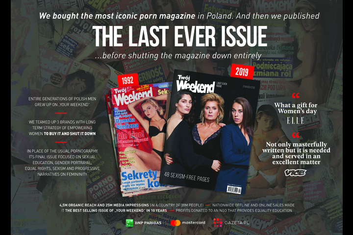 The Last Ever Issue - - Gazeta.pl, Mastercard, BNP Paribas