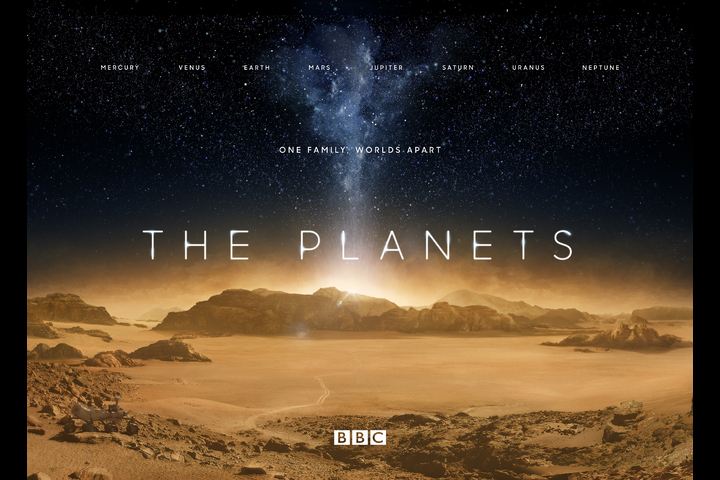 The Planets - The Planets Promo - BBC