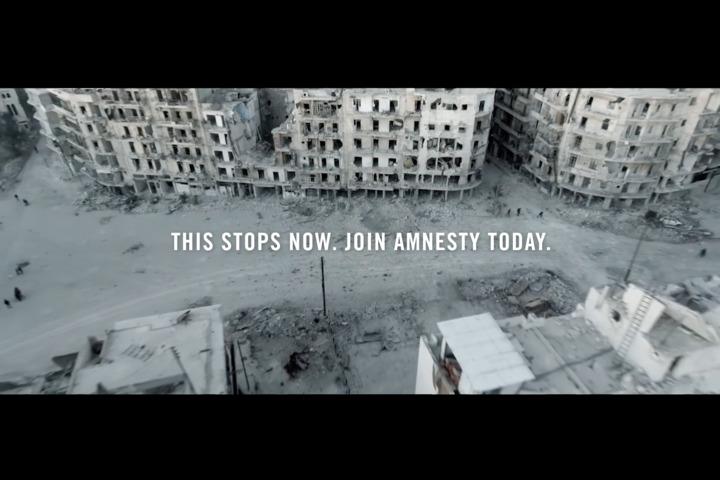 White Christmas - Amnesty International -