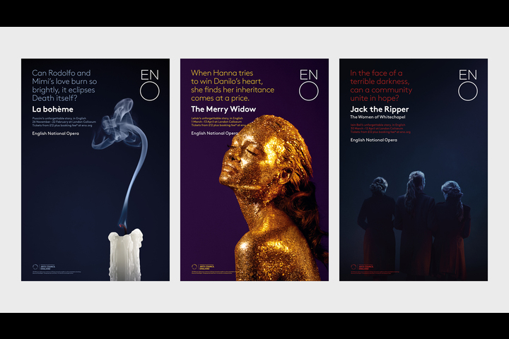 English National Opera (Season Campaign 18/19) - Opera Company - English National Opera