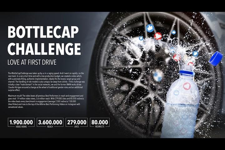BMW Bottle Cap Challenge - BMW Driving - BMW International