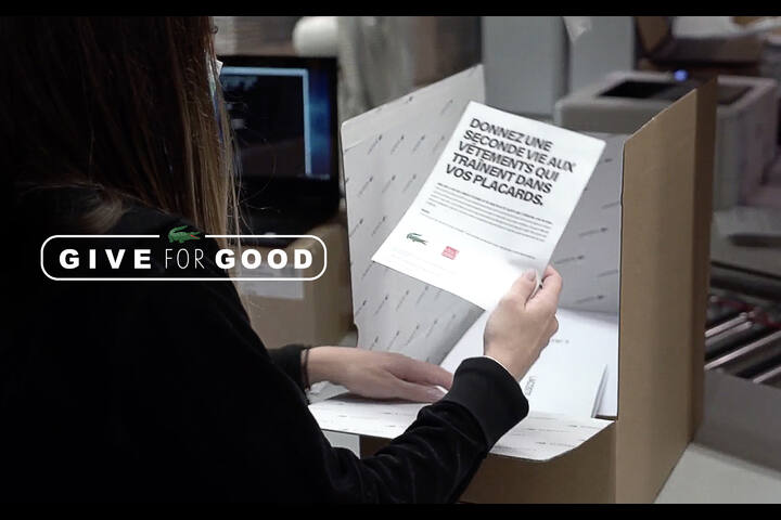 Give for good - Lacoste - Lacoste