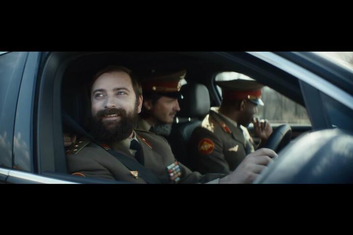 - Movie star confidence - Road Block - Volkswagen SUVs