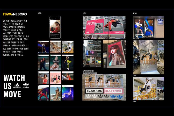 Watch Us Move – Women's Campaign - Formotion Training apparel & adidas Originals R.Y.V - adidas