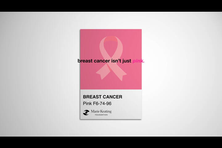 Breast Cancer Isn't Just Pink - Breast Cancer Awareness Month - Marie Keating Foundation
