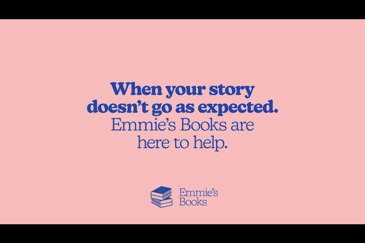 Emmie's Books Branding - Childrens Charity - Emmie's Books