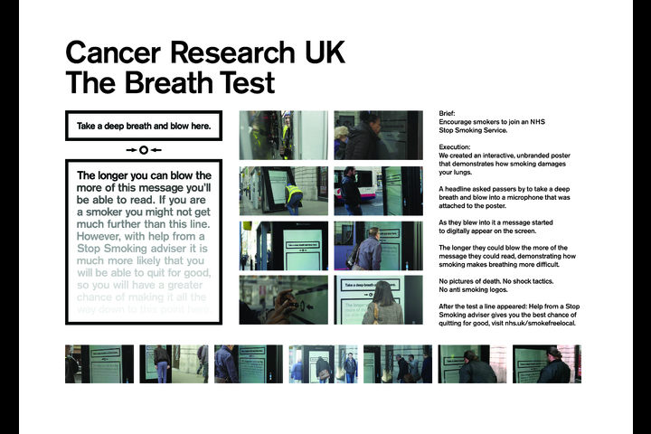 The Breath Test - Cancer Research UK - Cancer Research UK /NHS Anti Smoking