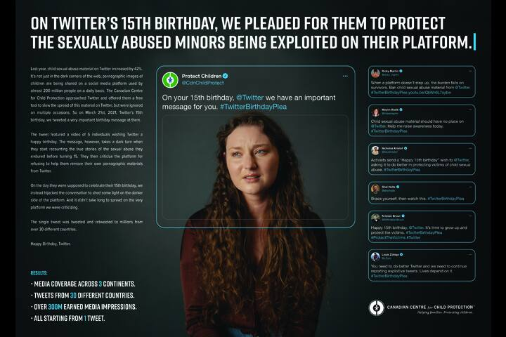 Happy Birthday, Twitter - Not for profit - Canadian Centre for Child Protection