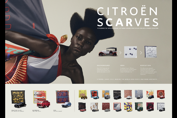 Citroën Scarves - Citroën Scarves - Citroën