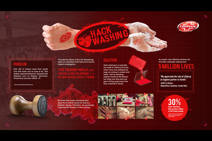 Hackwashing - Soap - Lifebuoy