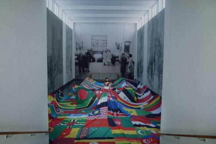 The Rainbow Dress - Studio MW (and realised together with Malmö Pride & Diktator) - The Amsterdam Rainbowdress