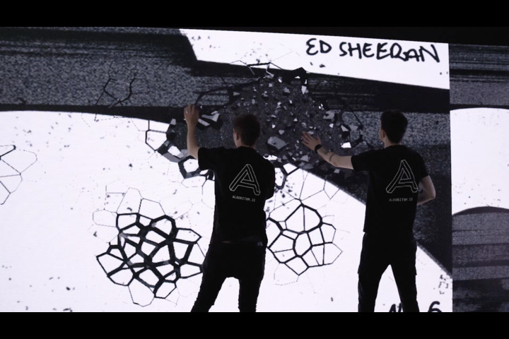 Ed Sheeran No. 6 Launch - Tactile Immersive Installation - Ed Sheeran