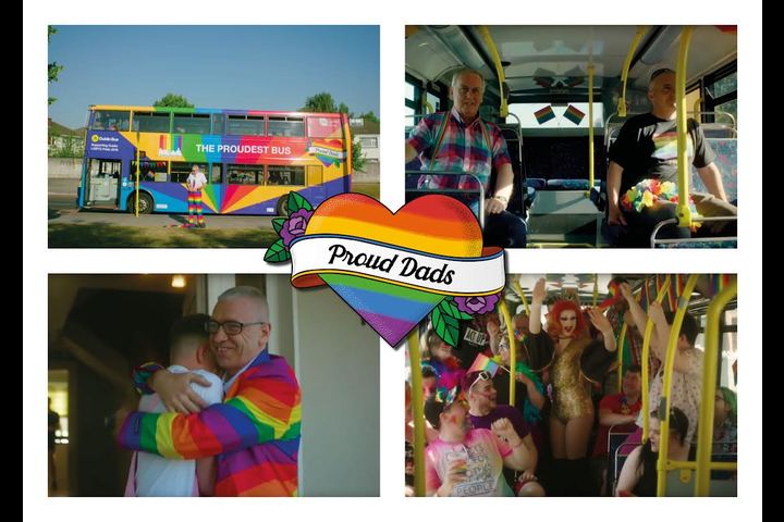 Proud Dads - Dublin Bus- Pride -