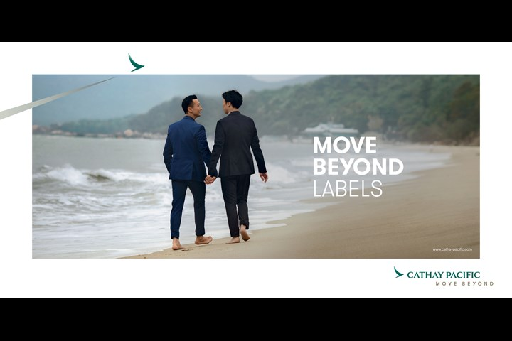 Move Beyond Labels - Airline Branding - Cathay Pacific
