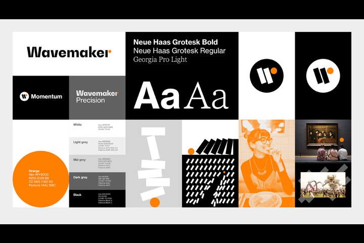 Wavemaker - Identity Design - WPP