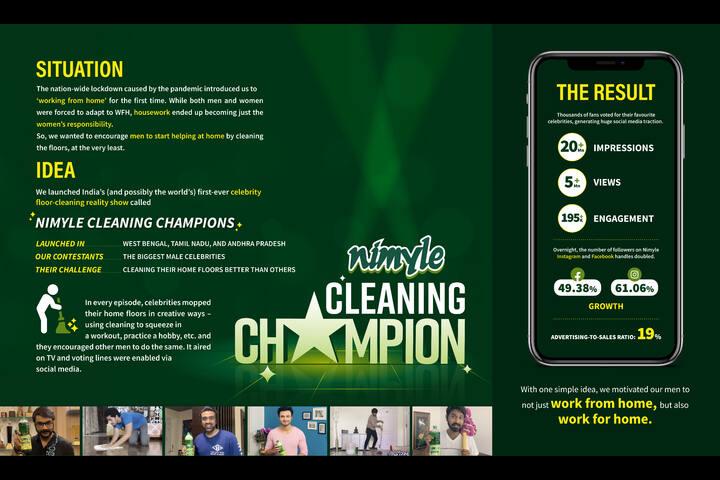 Nimyle Cleaning Champion - ITC - Nimyle