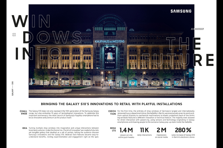 Windows Into The Future - Samsung Galaxy - Samsung