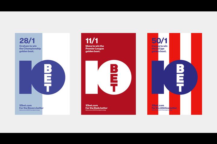 10bet Posters - Global online bookmaker - 10bet