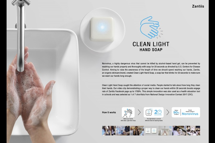 Clean Light Hand Soap - Bangkok Treasures Co.,Ltd. - Zantiis