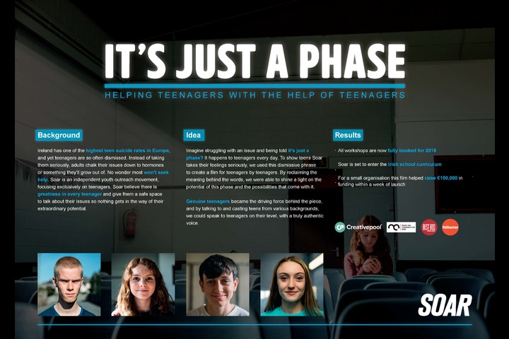 It's just a phase - Soar - Not for Profit/ Charity