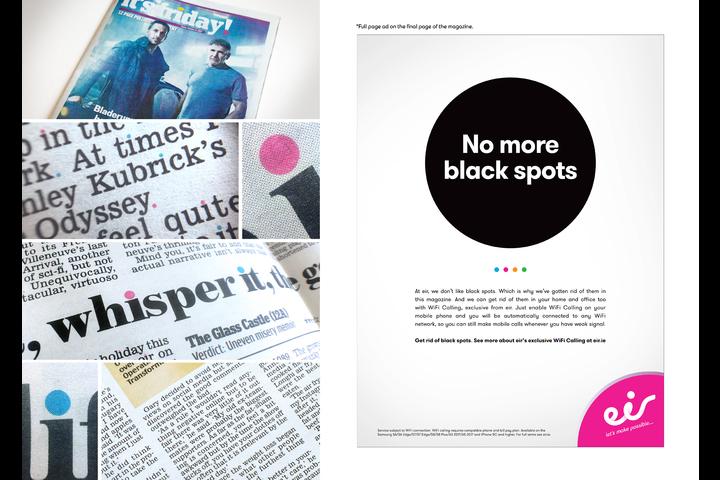 Black Spots - EIR - Telecommunication services