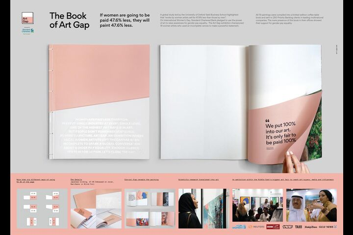 The Book of Art Gap - SCB - Standard Chartered Bank UAE