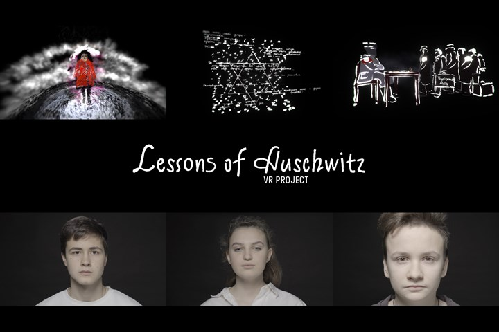 Lessons of Auschwitz: VR tribute by school students - VR experience - RT