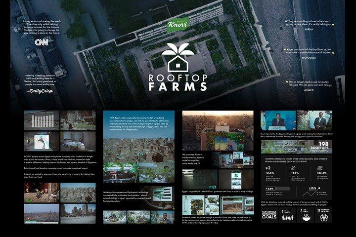 Rooftop Farms - Brand Purpose Initiative - Knorr
