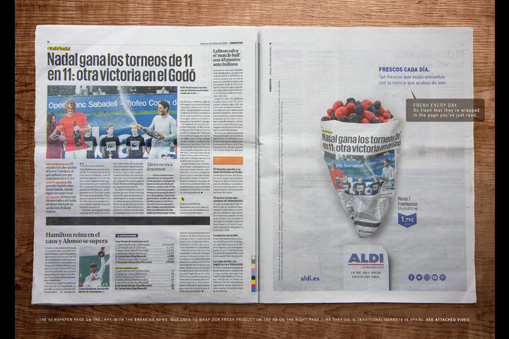Fresh Prints: Berries - - Aldi