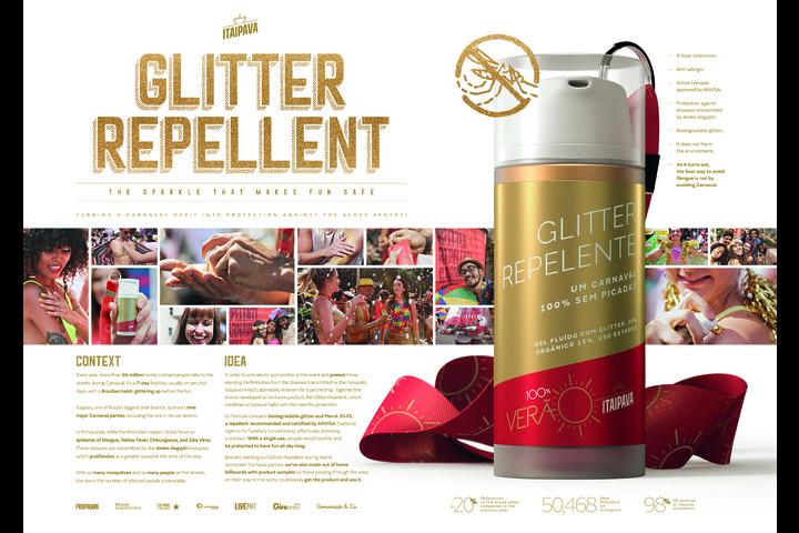 Glitter Repellent - - Itaipava