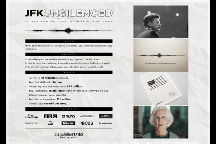 JFKUnsilenced - - The Times/ News UK & Ireland